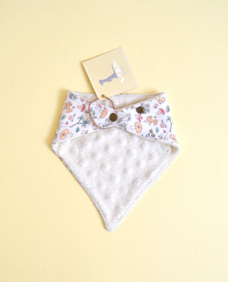 babero bandana limpiababas bebe pastel