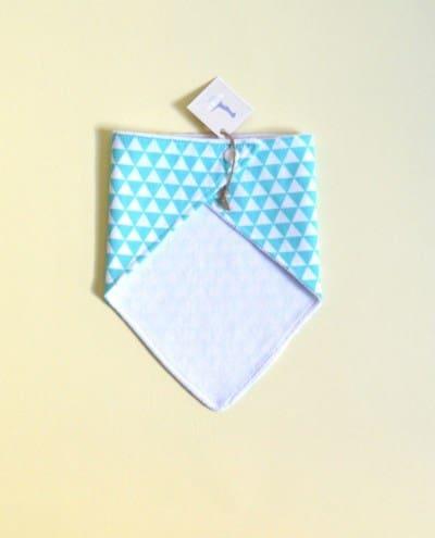 babero bandana limpiababas bebé azul